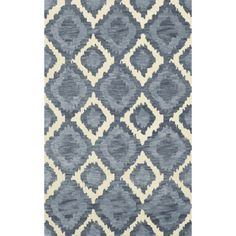 Dalyn Rug Co. Bella Blue Area Rug Rug Size: 6' x 9'