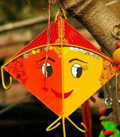Greet your loved ones on Makar Sankranti and wish them all happiness. Free online Greetings On Makar Sankranti ecards on Makar Sankranti Kite Decoration, Diy Diwali Decorations, Wedding Stage Decorations, School Decorations, Festival Decorations, Kites Craft, Art For Kids, Crafts For Kids, Desi Wedding Decor