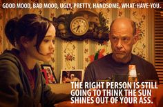 Juno - love this quote, even though it's kind of crude. :)