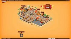 Web Design Inspiration:Festival Mantap Kopi ABC