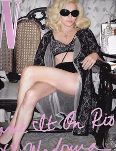 W magazine Madonna Steve McQueen Daphne Guinness Kimberly Ovitz Spring fashion