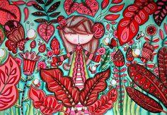 """-El frío que agotaba mi espíritu permanecía colgado en el silencio. Un soplo que afligía mi alma se hacía cada segundo más áspero, sólo esperaba encontrarme nuevamente contigo y deshojar lentamente siete margaritas para decirte cuanto tiempo te había esperado - Lala González  Ilustración del libro para colorear """"Colores para la vida""""  De venta en: @aquileolibreria @skontsalehouse @9trescuartos @demismanostiendas y tienda del Jardín Botánico de Medellín. En Bogotá y Cali @papelarca  Lo…"""