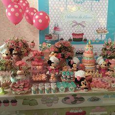 Festa Patisserie da Minnie https://www.instagram.com/encantosdecorbylu/