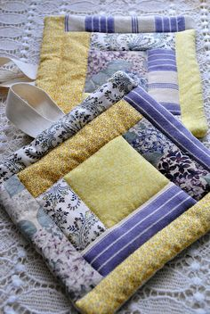 Creative Ramblings: Quilted Potholders