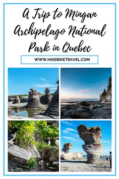 A trip to Mingan Archipelago National Park Preserve in eastern Quebec is ideal for nature lovers, birders, whale watchers, hikers, kayakers and national park enthusiasts Parks Canada, Visit Canada, Adventure Activities, Quebec City, Archipelago, Canada Travel, Thailand Travel, Rock Formations, Sea Birds