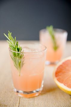 The Greyhound: Just fill a rocks glass with ice, pour in 2 oz. of vodka and 5 oz. of grapefruit juice, and stir well. Garnish with a grapefruit peel if you so desire. Want to get fancy? Add 1/2 oz. of rosemary syrup and a rosemary sprig for an herbal touch.