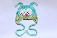 Buy Cute Gorgeous Baby Child Baby Crochet Knit Owl Hats Shoses Beanie New Purple/Pink Newborn To 3 Year Handmade Free Shipping on Aliexpress.com