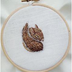 "Embroidery pet animals #animal #pet #photooftheday #cute #pets #instagood #animales #embroideryinstaguild #embroidery #embroideryart #embroidery #petstagram #petsagram #embroideryhoop #fiberart #needlework #needlepainting #art #instaart #makersgonnamake #thisgirlisasquirrel #artsy #mothernature #needle #gallery #fullmetalneedle #squirrel #petart #stitchheaven"""