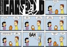 Garfield  comic strip for Mar/13/2016.