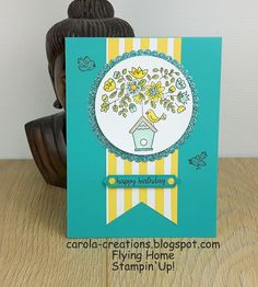 Carola Creations: Stampin'Up! Flying Home