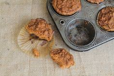 Morning Glory Muffins {using coconut flour}