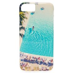 Gray Malin Swimming Pool iPhone 7 Case ($49) ❤ liked on Polyvore featuring accessories, tech accessories, multi, apple iphone case, iphone cases, iphone hard case and iphone cover case