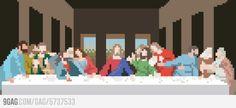 Last supper pixel