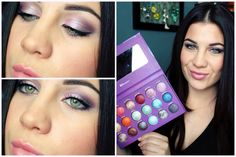 Full Face Makeup Ft. BH Galaxy Chic Palette!