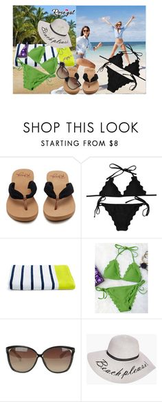 """""""Rosegal-contest"""" by zijadaahmetovic ❤ liked on Polyvore featuring J.Crew, Linda Farrow and Boohoo"""