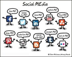 Social MEdia #Infographic - Great info for the goal behind multiple online marketing venues.