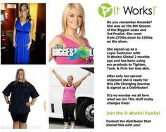 Go ahead and join us!  I know you are curious! #itworks #crazywrapthing