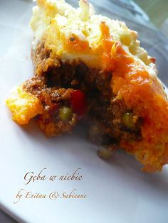 Gęba w niebie blog kulinarny: Shepherd's pie