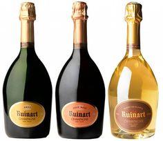 Ruinart Champagne Proeverij - heerlijk thuis genieten en vergelijken met je beste vrienden. Bestel ze voordelig samen bij www.champagnebabes.nl