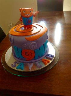 """""""Boov"""" from Home ... Birthday cake"""