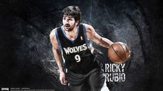 Ricky Rubio and other NBA players Wallpaper @ this website-for free: http://www.basketwallpapers.com/#