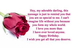 Happy birthday message for girlfriend long distance tagalog happy birthday message for boyfriend long distance relationship Message To My Boyfriend, Best Boyfriend Quotes, Love Letter For Boyfriend, Birthday Message For Boyfriend, Love Message For Him, Boyfriend Boyfriend, Boyfriend Pictures, Birthday Wishes And Images, Birthday Wishes For Myself