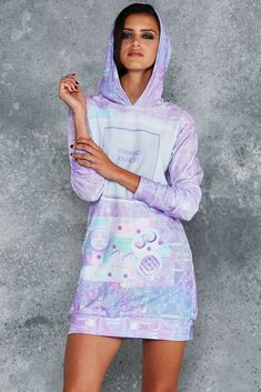 Gamer Holographic Slouchy - LIMITED ($150AUD) by BlackMilk Clothing