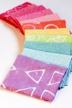 Fabric Dyeing Basics Tutorial by Jeni Baker of In Color Order.