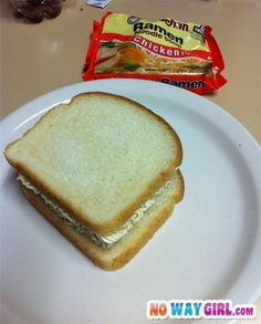Now This Is A Ghetto Sandwich