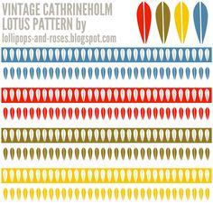 Cathrineholm Lotus Pattern Lotus Design, Nordic Design, Photoshop Tutorial, Paint Colors, Image Search, Mid-century Modern, Color Schemes, Pattern Design, Templates