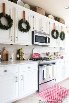 Decorchick White Christmas Kitchen | Decorchick!®
