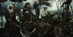 Collection of images of Victarion Greyjoy.
