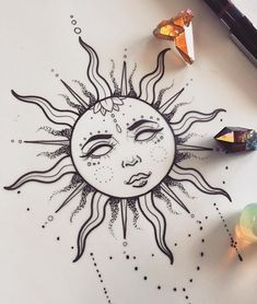 Little gypsy sun for a client