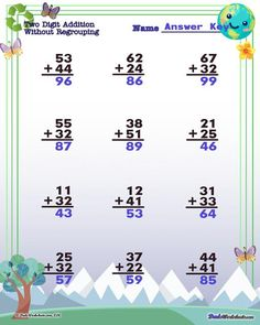 These Earth Day worksheets for color-by-number, addition, subtraction, multiplication and division math problems in printable PDF format will sweeten up your math practice for February! Earth Day Worksheets, Free Printable Math Worksheets, Number Worksheets, Division Math Problems, Math Division, Multiplication And Division Worksheets, Addition And Subtraction Worksheets, Simple Math, Basic Math