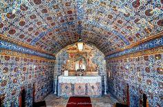 Tiled Chapel, Lagos Fort, Algarve, Portugal by Fragga via Flickr