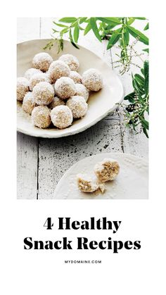 4 #healthy #snack recipes for the new year
