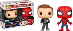 Funko POP Marvel Spider-Man Homecoming Peter Parker & Spider-Man Exclusive >>> Details can be found by clicking on the image. (This is an affiliate link) Funko Pop Marvel, Funko Pop Spiderman, Disney Pixar, Hobbit, Funko Pop Dolls, Funko Pop Exclusives, Funk Pop, Pop Toys, Pop Collection