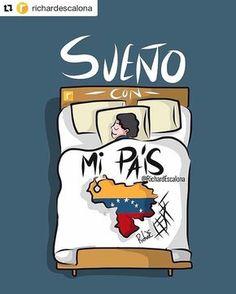 #Repost @richardescalona with @repostapp [Menciona a tus Amigos(as) Venezolanos(as)] _______________________________________________Cuáles son tus Sueños? Hoy quiero soñar despierto y seguir dando lo mejor de mí para tener el País que nos merecemos; especialmente que se merecen nuestros niños y niñas. Encomendemos en nuestras oraciones a aquellos que sufren tantas necesidades. El Señor les Bendiga. Yo oro por Mi País también por el tuyo. ___ @adoracioncreativa #AdoraciónCreativa #Doodle ... My Land, Live In The Now, My People, Countries Of The World, Disney Characters, Fictional Characters, Self Motivation, Memes, Country