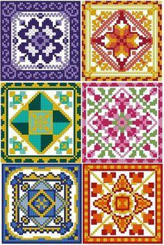 Machine Embroidery Cross Stitch Design Set of 6 Designs Blackwork Cross Stitch, Cross Stitch Geometric, Tiny Cross Stitch, Cross Stitch Cards, Cross Stitch Borders, Cross Stitch Alphabet, Cross Stitch Designs, Cross Stitching, Cross Stitch Embroidery
