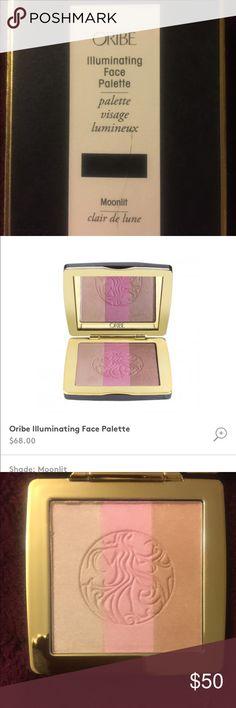Oribe Moonlit Palette oribe Moonlit illuminating face palette, new, unused, received as a stocking stuffer Oribe Makeup Luminizer