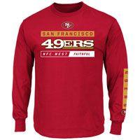 San Francisco 49ers 2016 Primary Receiver Long Sleeve NFL T-Shirt: The San Francisco 49ers… #IceHockeyStore #IceHockeyShop #IceHockeyJerseys