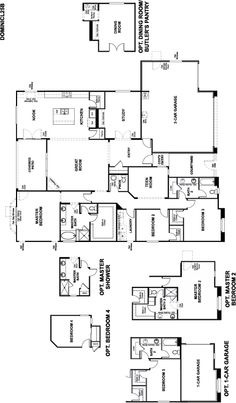 Denise   Kitchen | Denise Floor Plan | Richmond American Homes | , | | For  The Home | Pinterest | Kitchens And House