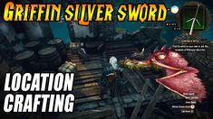 Witcher 3 guide - How to find and craft the Griffin Silver Sword Sword, Channel, Gaming, Youtube, Silver, Crafts, Videogames, Manualidades, Game