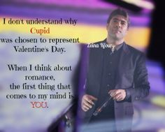 You represent #love in all its forms @kfourywael #WaelKfoury #KingOfRomance