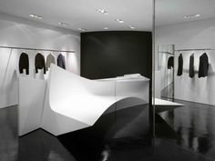 Neil Barrett Shop in Shop / Zaha Hadid Architects
