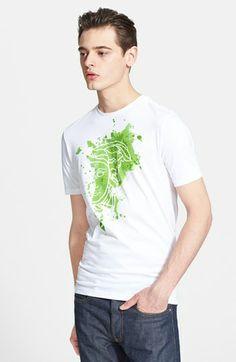 Versace 'Paint Splatter Medusa' Graphic T-Shirt available at #Nordstrom
