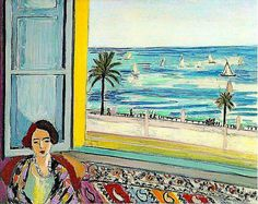 Henri Matisse, room with a view.