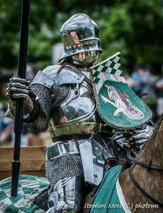 Stephen Moss - Armadura de torneo, tipo siglo XV (reconstrucción).