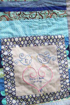 Blue String Quilt Label 2   Flickr - Photo Sharing!