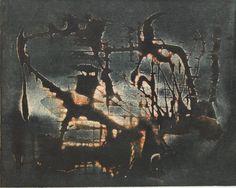 Vladimír Boudník Artist, Painting, Artists, Painting Art, Paintings, Painted Canvas, Drawings